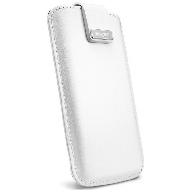 Чехол для iPhone 5 Leather Pouch Crumena White (09513)