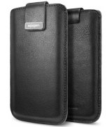 Чехол для iPhone 5 Leather Pouch Crumena Black (09512)
