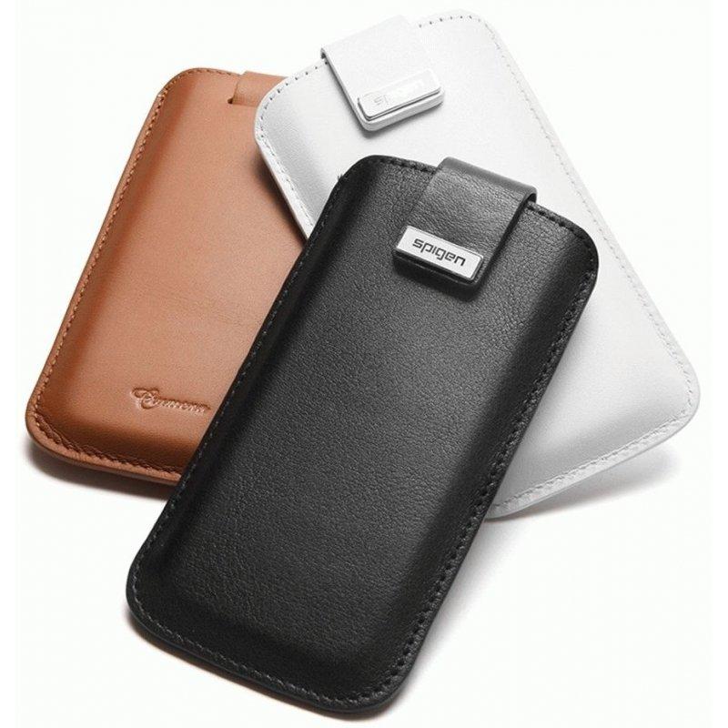 Чехол для iPhone 5 Leather Pouch Crumena Black (09512)