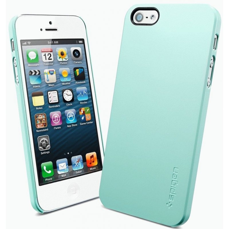 SGP iPhone 5 Case Ultra Thin Air Mint Green