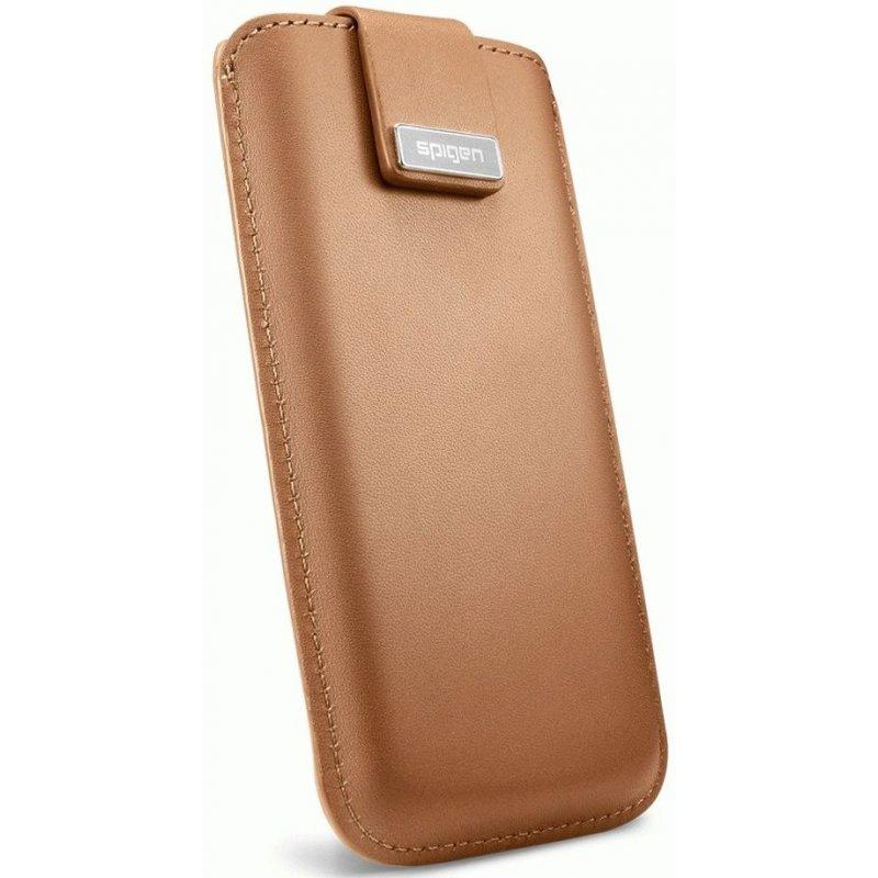 Чехол для iPhone 5 Leather Pouch Crumena Vegetable Brown (09514)