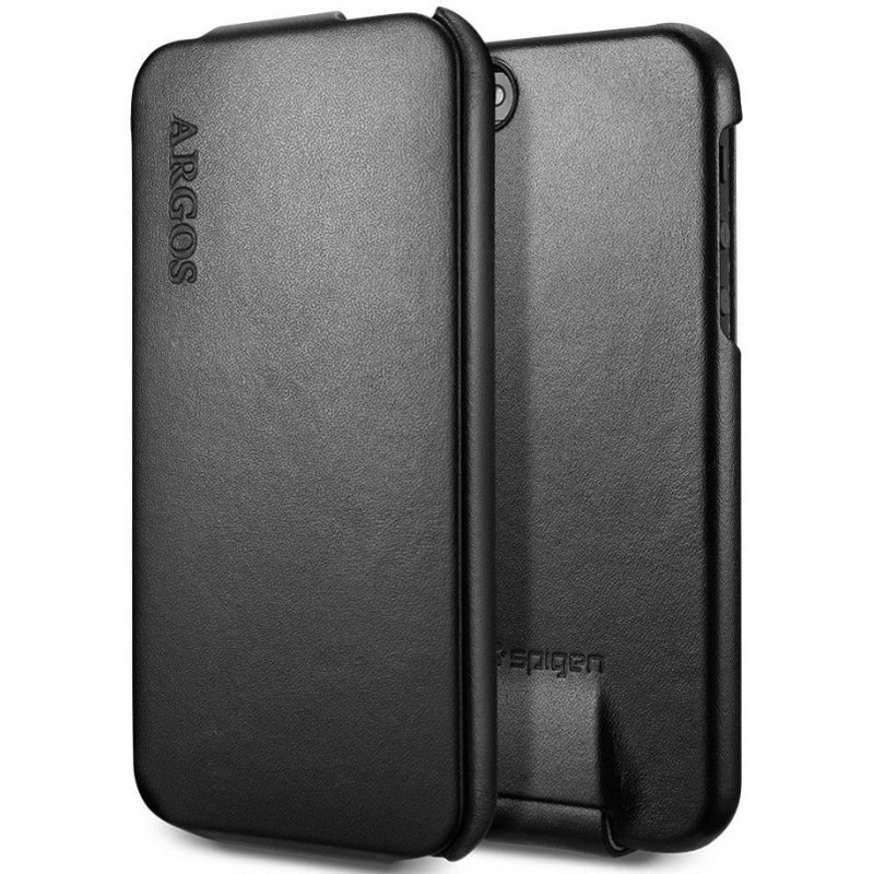 SGP iPhone 5 Leather Case Argos Black