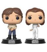 Коллекционная фигурка Funko POP! Star Wars: 2PK Han & Leia (46770)