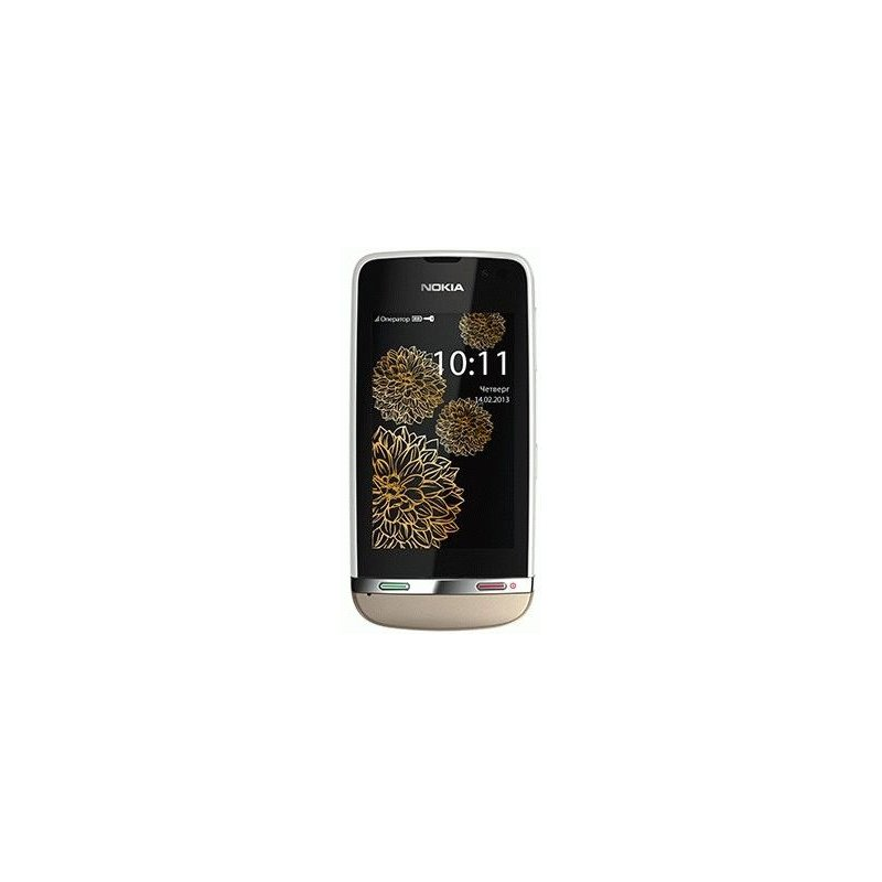 Nokia Asha 311 Rose Red Sharme White