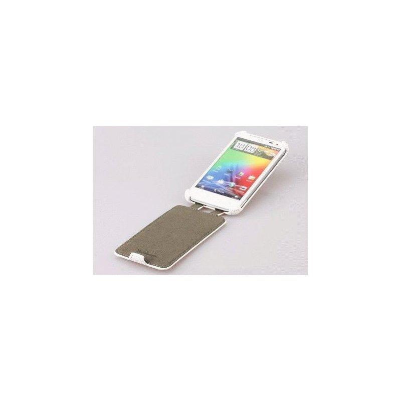 Yoobao кожаный чехол-флип для HTC Sensation XL (X315E) White