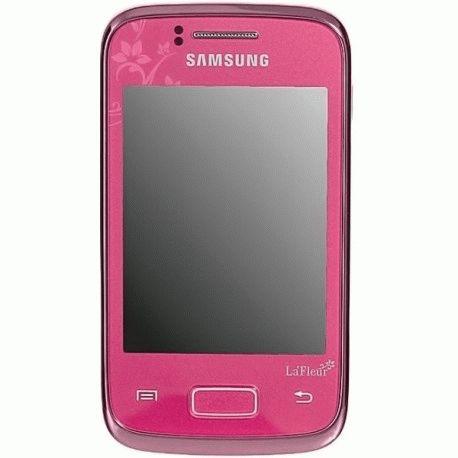 Samsung S6102 Galaxy Y Duos Romantic Pink La Fleur