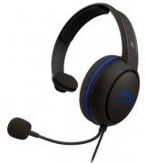 Гарнитура игровая HyperX Cloud Chat Headset for PS4 (HX-HSCCHS-BK/EM)