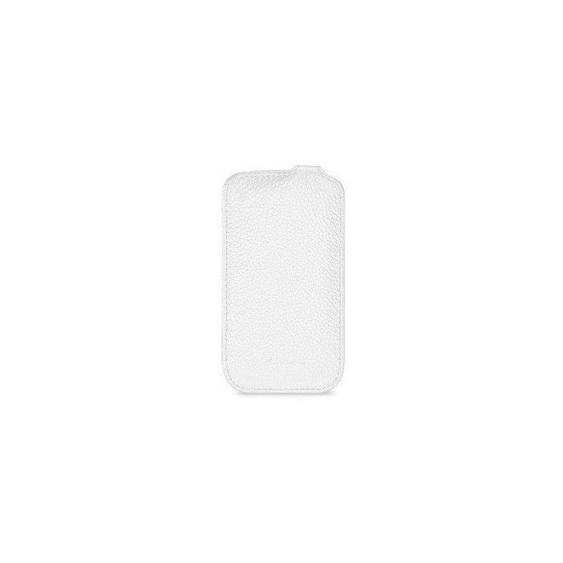 Кожаный чехол Melkco (JT) для HTC Desire V T328w White
