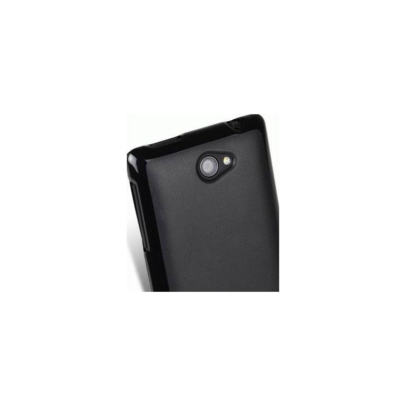 TPU накладка Melkco Poly Jacket для HTC Windows Phone 8S Black Mat