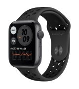 Apple Watch Series 6 44mm (GPS) Space Gray Aluminum Case with Anthracite/Black Nike Sport Band (MG173)