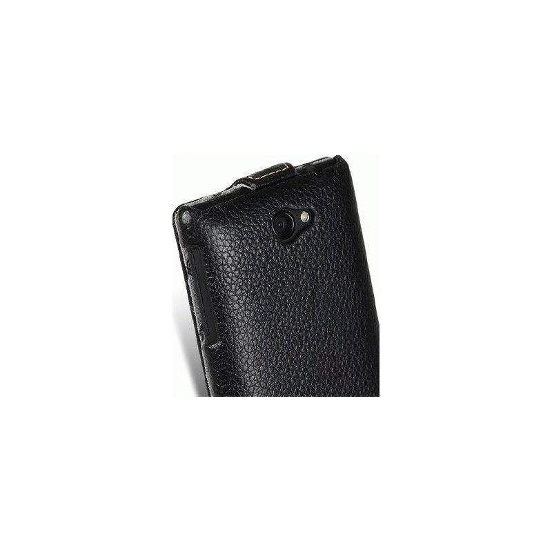Кожаный чехол Melkco Flip (JT) для HTC Windows Phone 8S A620e Black