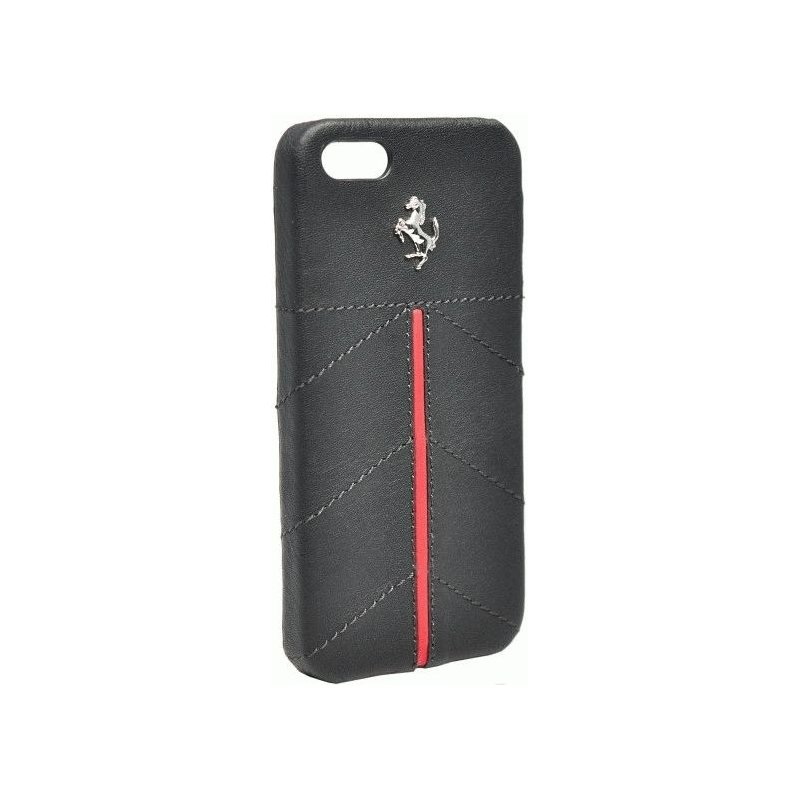 CG Ferrari California кожаная накладка для iPhone 5 (FECFIP5B) Black