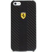 CG MOBILE Ferrari Hard Scuderia накладка для iPhone 5 (FECHIP5G) Black