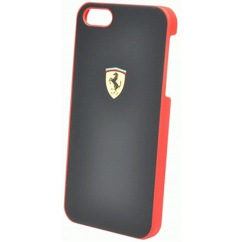 CG MOBILE Ferrari Hard Scuderia накладка для iPhone 5 (FESCHCP5BL) Black