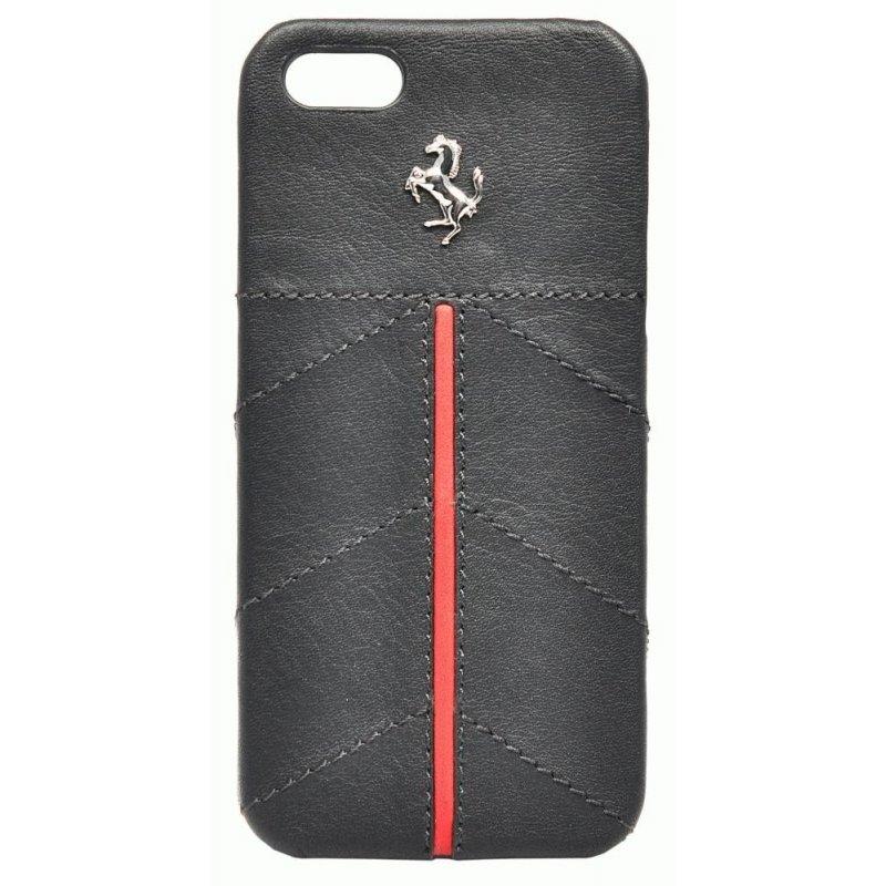 CG MOBILE Ferrari California кожаная накладка для iPhone 5 (FECFIP5B) Black