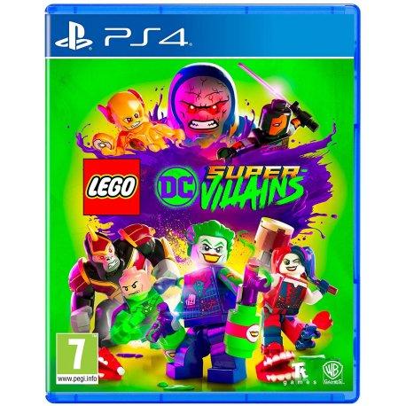 Игра LEGO DC Super-Villains (PS4). Уценка!