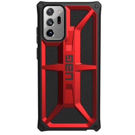Чехол UAG для Galaxy Note 20 Ultra Monarch Crimson (212201119494)