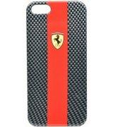CG MOBILE Ferrari Scuderia Hard Carbon накладка для iPhone 5 (FECBP5RE)