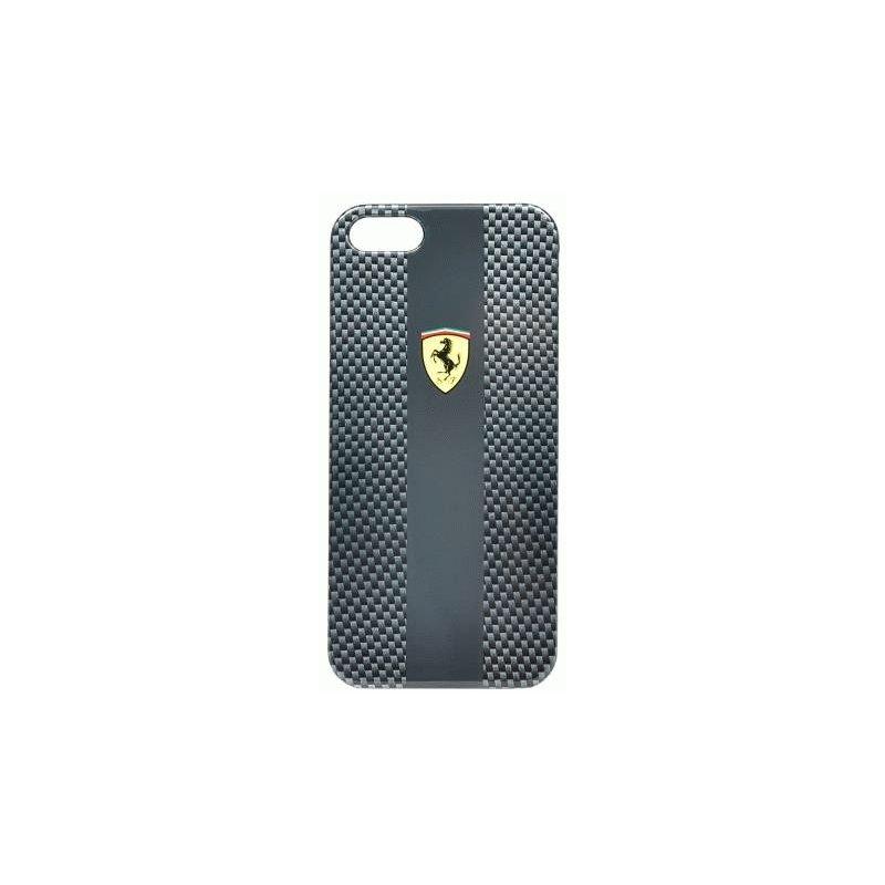 CG MOBILE Ferrari Scuderia Hard Carbon накладка для iPhone 5 (FECFIP5B)