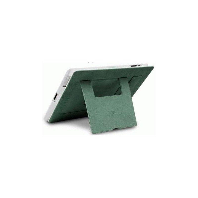 Кожаный чехол Zenus Prestige Classic Business Portfolio Series для iPad 3/iPad 4 White