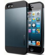 SGP iPhone 5 Case Slim Armor Metal Slate (SGP10088)