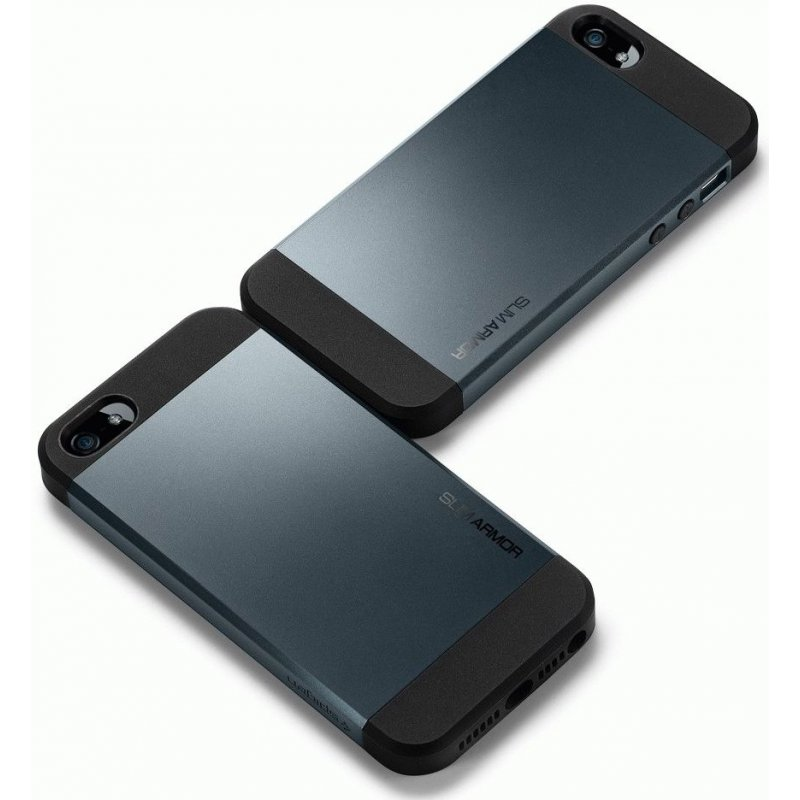 SGP iPhone 5 Case Slim Armor Metal Slate (SGP10088)