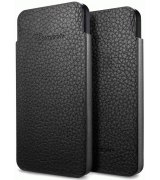 Чехол для iPhone 5 SGP Leather Pouch Crumena S Black