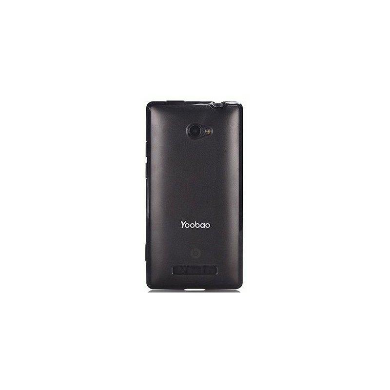 Yoobao накладка TPU Skin Cover для HTC Windows Phone 8X C620e Black