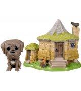 Коллекционная фигурка Funko POP! Harry Potter: Hagrid's Hut w/ Fang (44230)