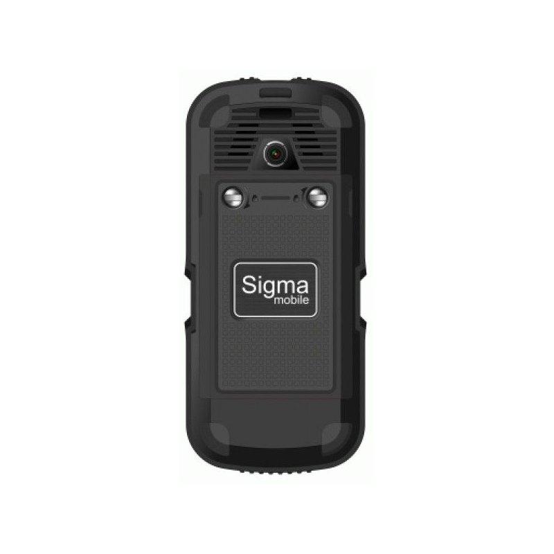 Sigma mobile X-treme IP 67 Dual Sim Black/Black