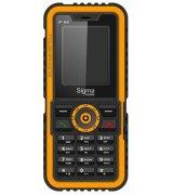 Sigma mobile X-treme IP 68 Black/Orange