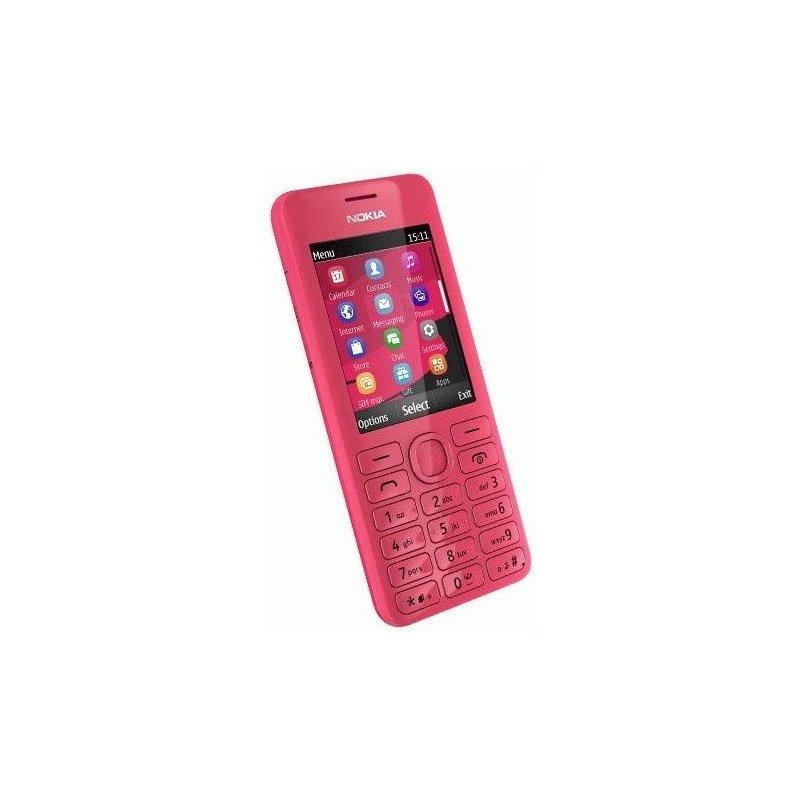 Nokia Asha 206 Magenta