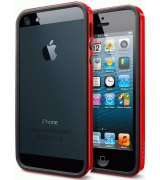 Бампер для iPhone 5 SGP Case Neo Hybrid EX Dante Red (SGP10026)