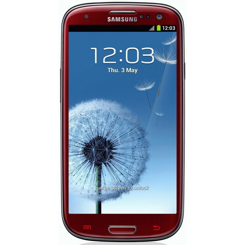 Samsung Galaxy S3 i9300 Garnet Red La Fleur