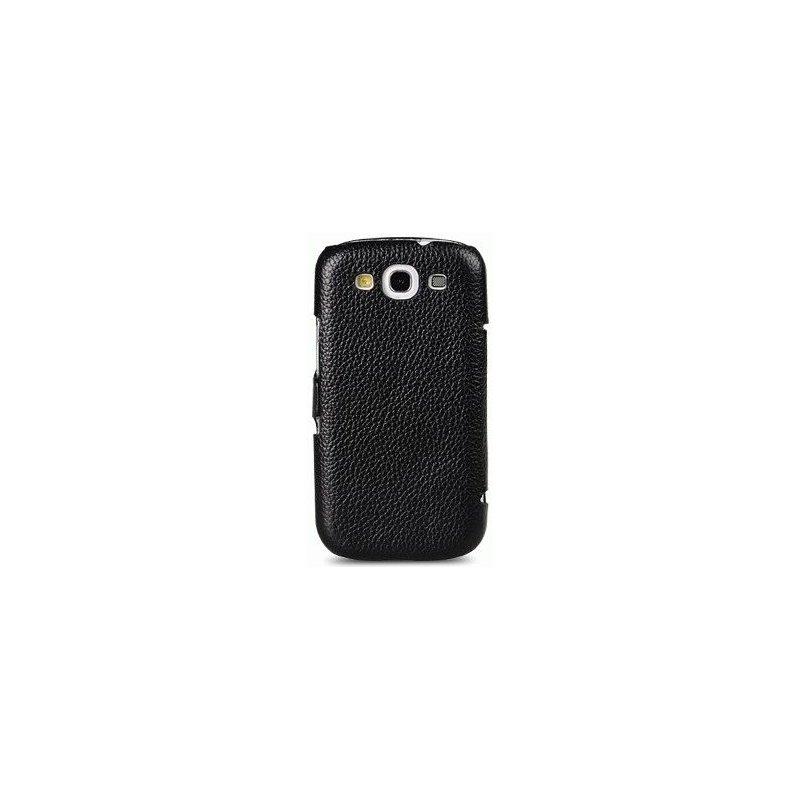 Кожаный чехол Melkco Booker Type для Samsung i9300 Galaxy S3 Black