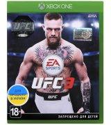 Игра UFC 3 (Xbox One, Русские субтитры)