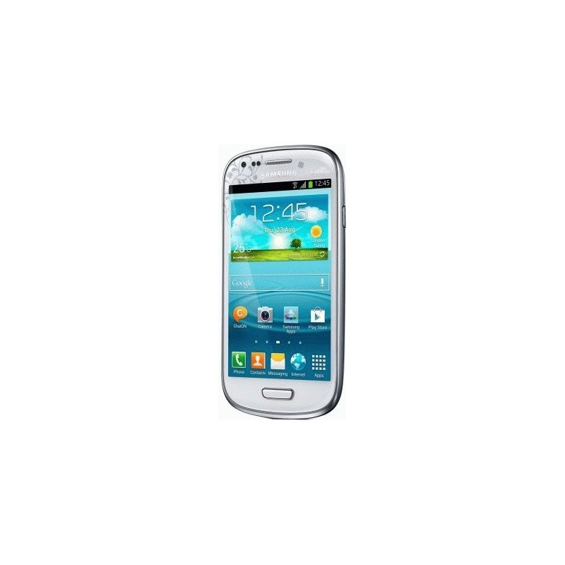 Samsung Galaxy S3 mini I8190 Ceramic White La Fleur