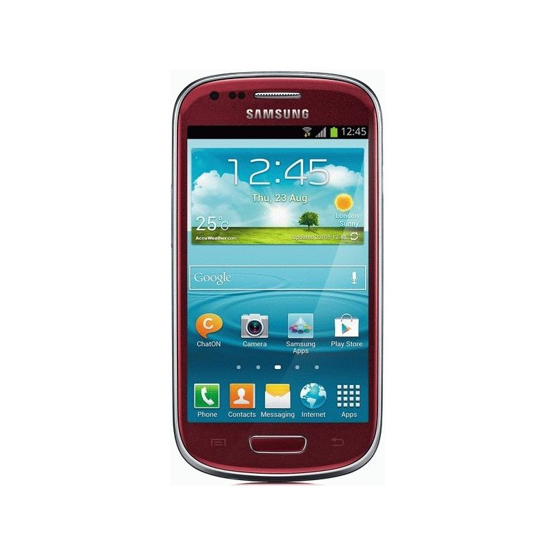 Samsung Galaxy S3 mini I8190 Garned Red