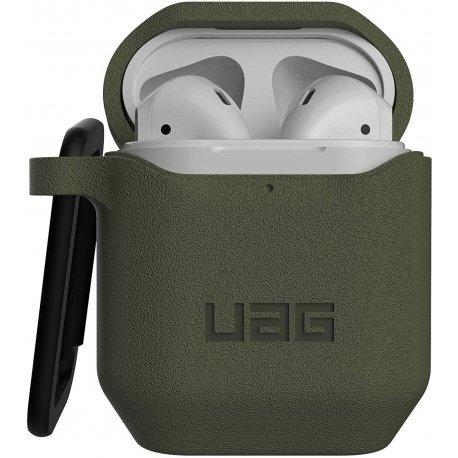 Чехол UAG для Apple Airpods Standard Issue Silicone 001 (V2) Olive (10244K117272)
