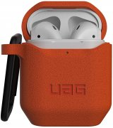 Чехол UAG для Apple Airpods Standard Issue Silicone 001 (V2) Orange (10244K119797)
