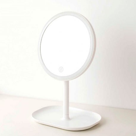 Зеркало для макияжа Xiaomi Jordan Judy LED Makeup Mirror Stand White (NV529)