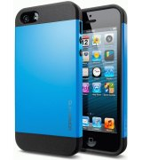 SGP iPhone 5 Case Slim Armor Color Dodger Blue ( SGP10099)
