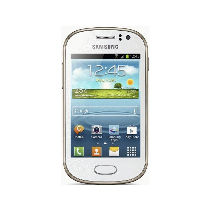Samsung Galaxy Fame S6810 Pure White