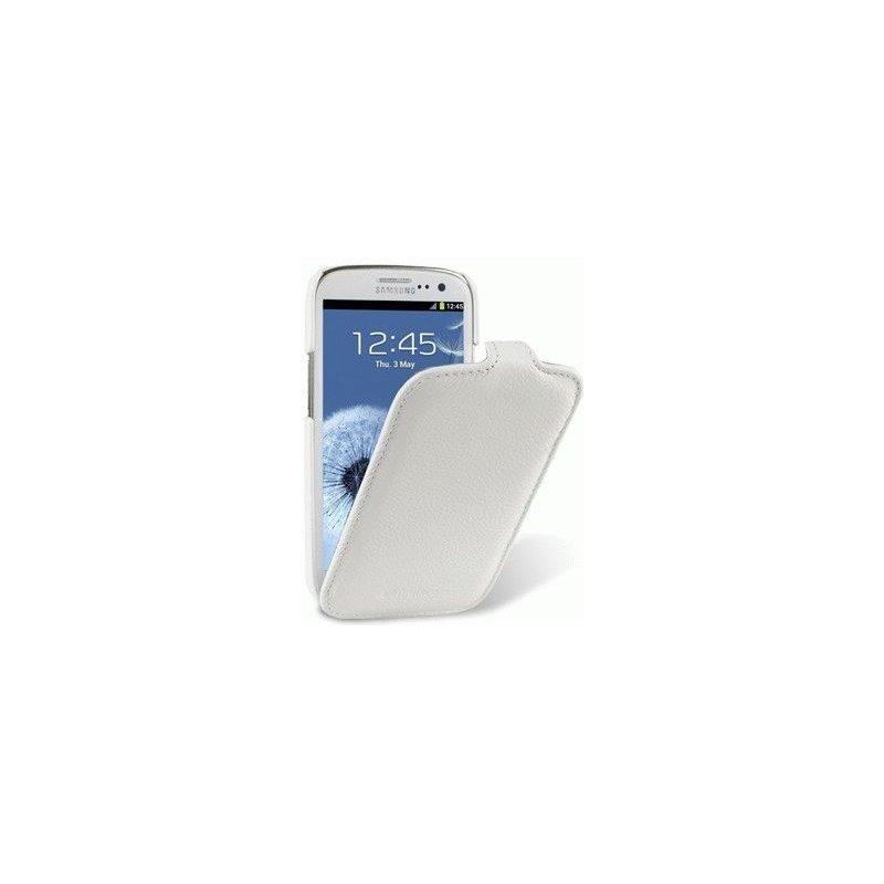 Кожаный чехол Melkco (JT) для Samsung i9260 Galaxy Premier White