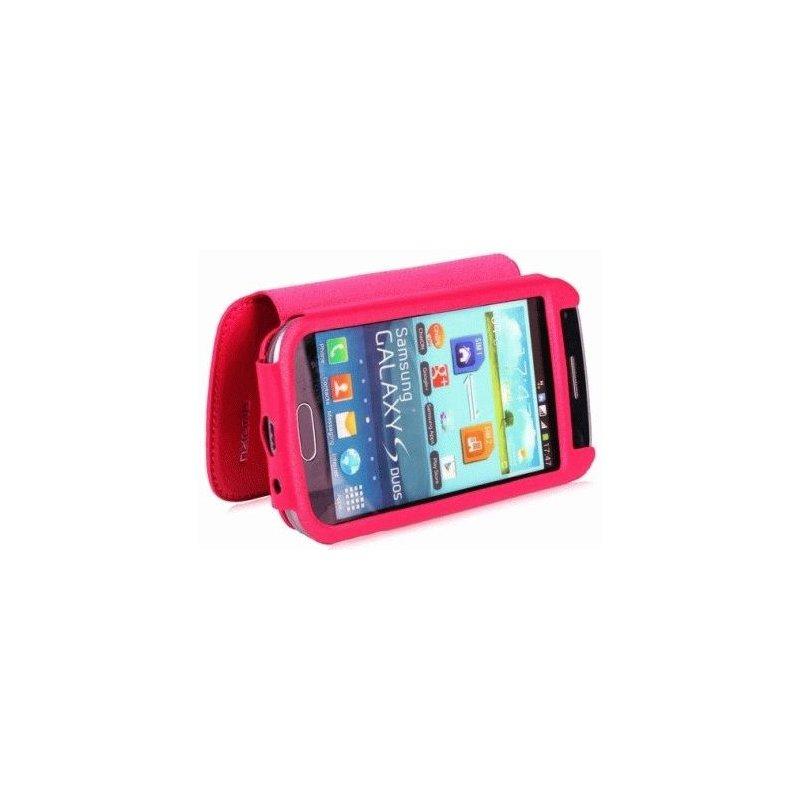 Чехол для Samsung Galaxy S Duos S7562 Nuoku Grace Pink