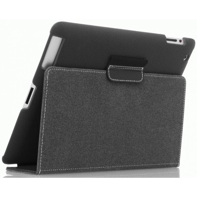 Кожаный чехол Targus Slim Case для Apple iPad 3/ IPad 4 Black