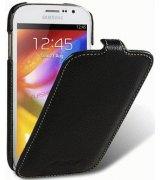Кожаный чехол Melkco Flip (JT) для Samsung Galaxy Grand Duos i9082 Black