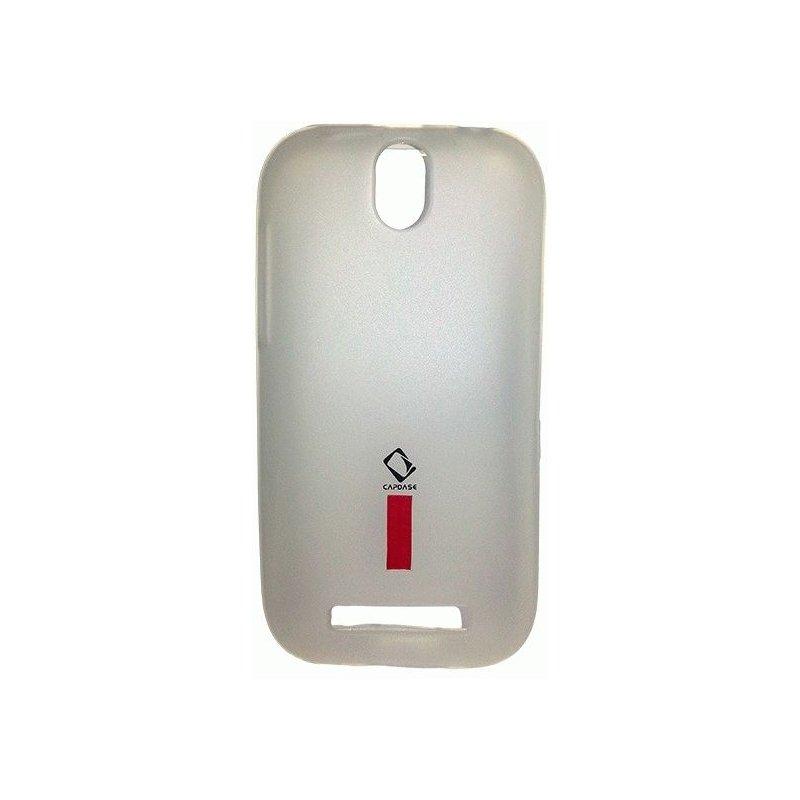 Capdase накладка Soft Jacket Xpose для HTC Desire SV T326e White