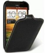 Кожаный чехол Melkco Flip (JT) для HTC One SV C520e Black