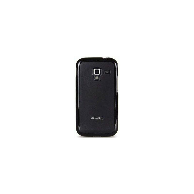 TPU накладка Melkco Poly Jacket для Samsung Galaxy Ace 2 I8160 Black